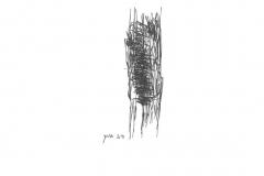 2018,רישום חופשי עט פיילוט על נייר,15X20